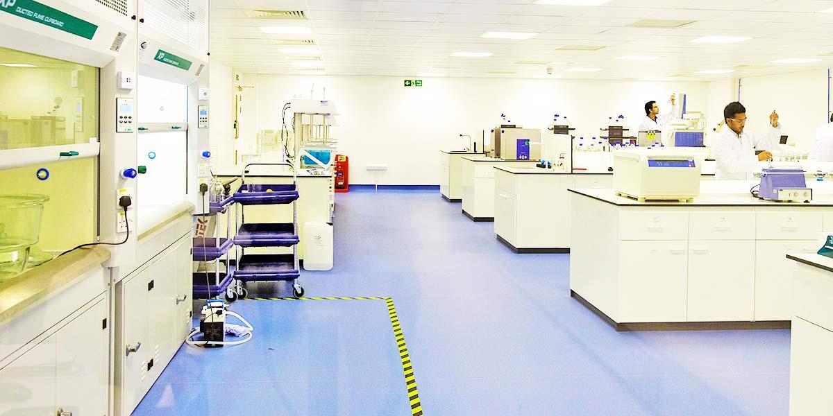 Laboratory development services GMP Group