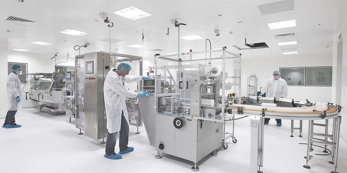 Pharma facility design